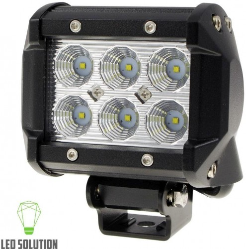 LED Solution LED pracovné svetlo 18W BAR 10-30V 189004
