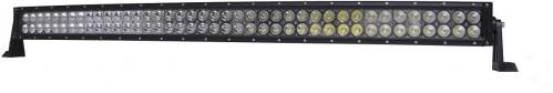 LED Solution LED svetelná rampa zahnutá 240W BAR 10-30V SM-240