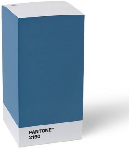 Modrý stojan na ceruzku / poznámkový blok LEGO® Pantone