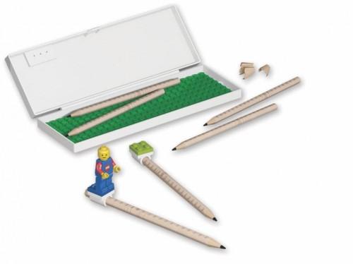 Puzdro na písacie potreby s modrým detailom LEGO® Blue Detail