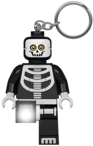 Svietiaca kľúčenka LEGO® Monsters Kostlivec