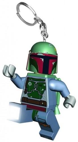 Svietiaca kľúčenka LEGO Star Wars Boba Fett