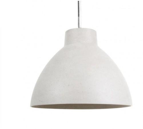Biele závesné svietidlo Leitmotiv Sandstone