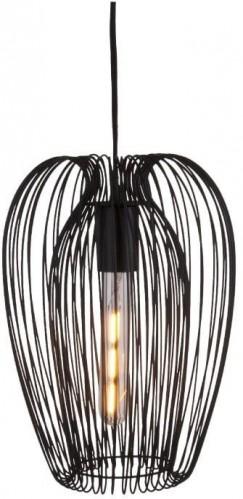 Čierne stropné svietidlo Leitmotiv Lucid