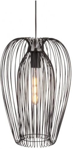 Čierne stropné svietidlo Leitmotiv Lucid Large