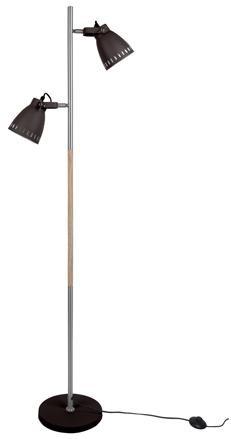 Podlahová lampa Leitmotiv Mingle iron LM1620, 152cm