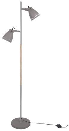 Podlahová lampa Leitmotiv Mingle iron LM1622, 152cm
