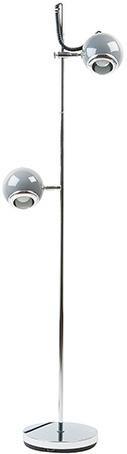 Podlahová lampa Leitmotiv, RETRO 2, šedá, 150cm