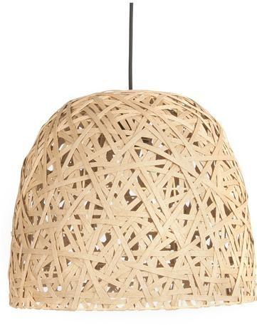 Závesná lampa Leitmotiv Nest cone large natural, 40cm