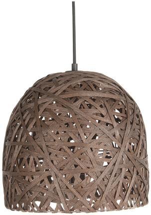 Závesná lampa Leitmotiv Nest cone medium dark brown, 30cm