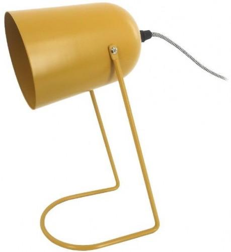 Žltá stolová lampa Leitmotiv Enchant