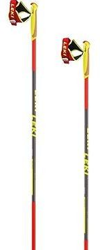 Leki PRC 700, red-anthracite-black-white-yellow, 140 cm