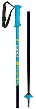 Leki Rider, blue-white-cyan-neonyellow