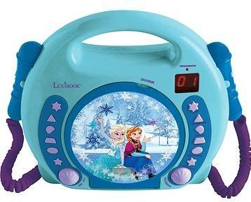 Lexibook Frozen CD přehrávač s mikrofonem