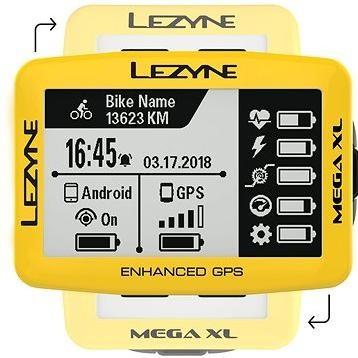 Lezyne Mega XL GPS Yellow