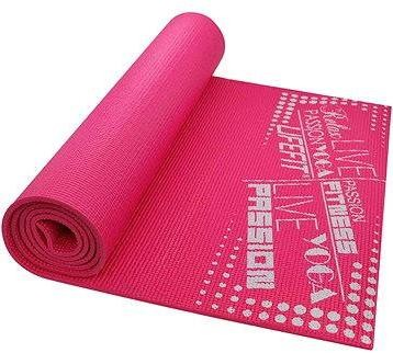 Lifefit Slimfit gymnastická světle růžová