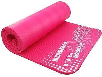 Lifefit Yoga Mat Exclusiv plus růžová