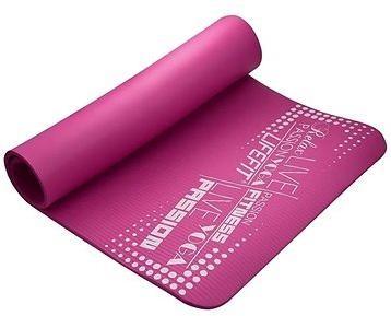 Lifefit Yoga Mat Exkluziv bordó