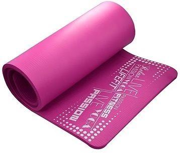 Lifefit Yoga Mat Exkluziv plus bordó