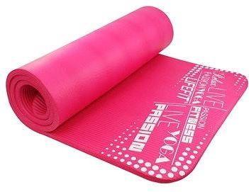 Lifefit Yoga Mat Exkluziv světle růžová