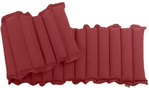 Červený relaxačný masážny matrac Linda Vrňáková Waves, 60 × 200 cm