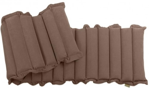 Hnedý relaxačný masážny matrac Linda Vrňáková Waves, 60 × 200 cm
