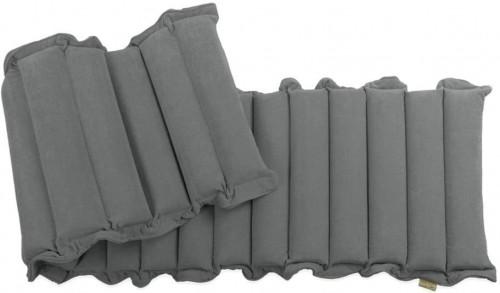 Sivomodrý relaxačný masážny matrac Linda Vrňáková Waves, 60 × 200 cm