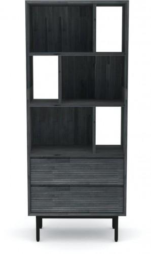 Knižnica z akáciového dreva Livin Hill Capella, výška 170 cm