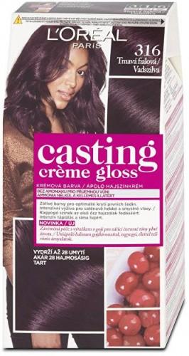 L´Oréal Paris Farba na vlasy Casting Crème Gloss 400 tmavý kaštan
