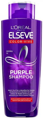 L´Oréal Paris Šampón pre melírované, blond a strieborné vlasy Elseve Color-Vive Purple (Shampoo) 200 ml