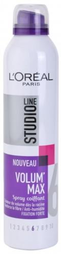 L'Oréal Paris Studio Line Volum´ Max lak na vlasy pre objem 300 ml