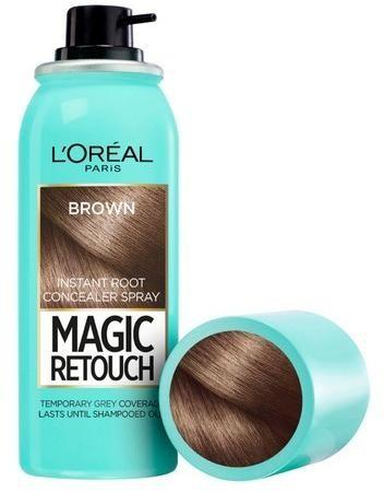 L´Oréal Paris Vlasový korektor šedín a odrastov Magic Retouch (Instant Root Concealer Spray) 75 ml 07 Black