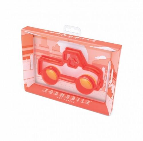 Červená formička na vajíčka v tvare trucku Luckies of London Eggmobile