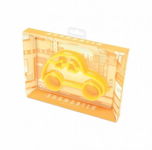 Žltá formička na vajíčka v tvare auta Luckies of London Eggmobile