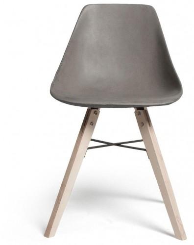 Jedálenská stolička s betónovým sedadlom Lyon Béton Hauteville