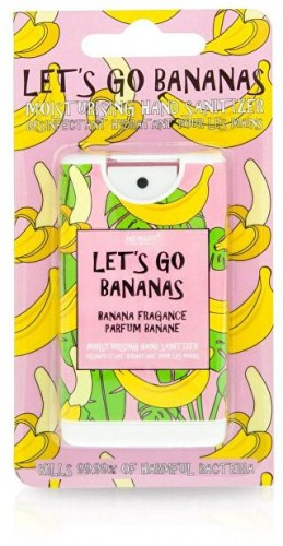 Mad Beauty Hydratačný dezinfekčný sprej na ruky Let`s Go Bananas 15 ml