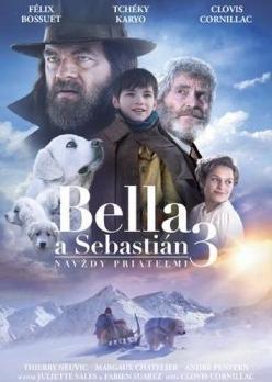 Bella a Sebastián 3: Navždy priateľmi DVD (SK)