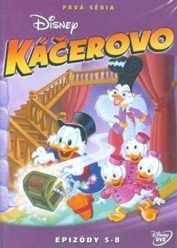 Káčerovo 1.séria - disk 2. DVD (SK)