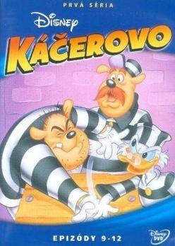 Káčerovo 1.séria - disk 3. DVD (SK)