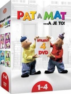 Pat a Mat kolekce 1-4 4DVD