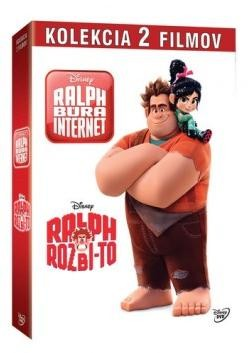 Ralph Rozbi-to + Ralph búra internet kolekcia 2DVD (SK)