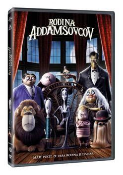 Rodina Addamsovcov DVD (SK)