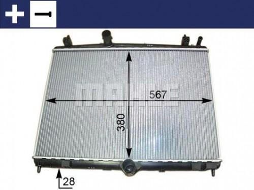 Chladič motora MAHLE CR 2113 000S CR 2113 000S