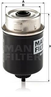 Palivový filter MANN-FILTER WK 8100 WK 8100