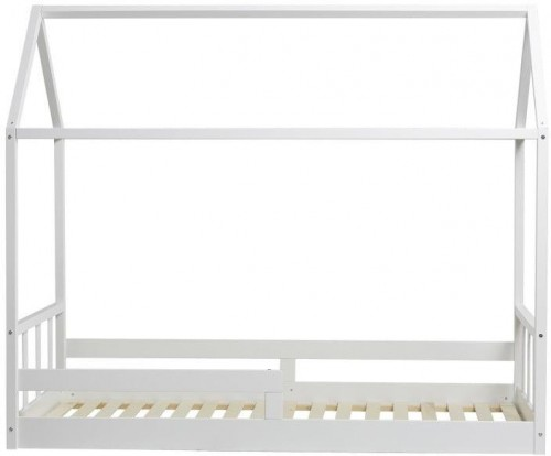 Biela jednolôžková posteľ Marckeric Kiwi, 90 × 190 cm