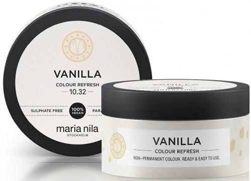 Maria Nila Jemná vyživujúce maska bez permanentných farebných pigmentov Vanilla ( Colour Refresh Mask) 300 ml
