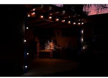 Marimex Řetěz 20 ks párty bílé žárovky