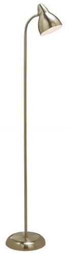 Voľne stojacia lampa v zlatej farbe Markslöjd Parga