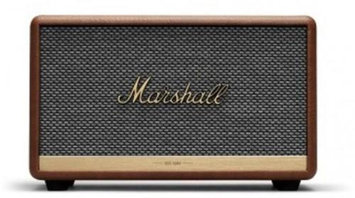 Hnedý reproduktor s Bluetooth pripojením Marshall Acton II