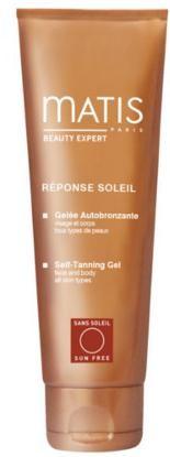 Matis Paris Samoopaľovací gél pre tvár aj telo Résponce Soleil (Self-Tanning Gel Face & Body ) 150 ml